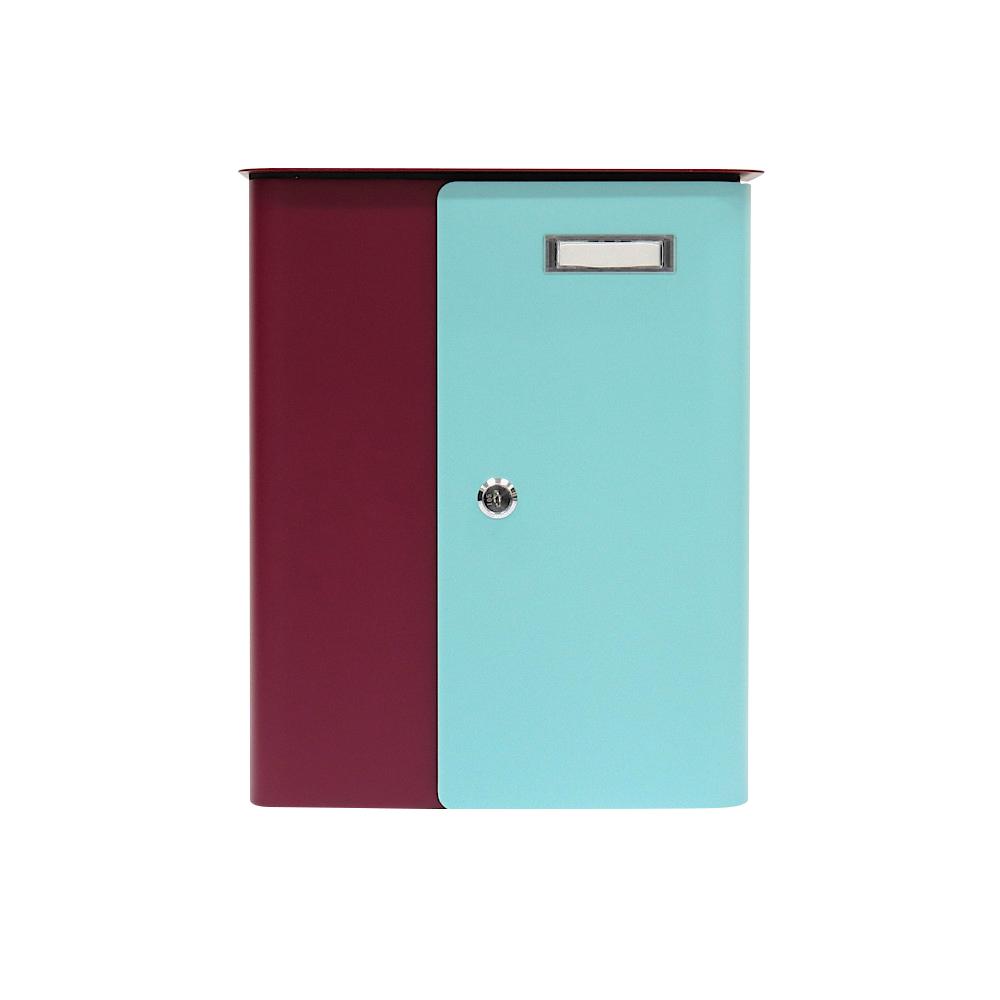 Rottner Splashy Berry Turquoise Letterbox