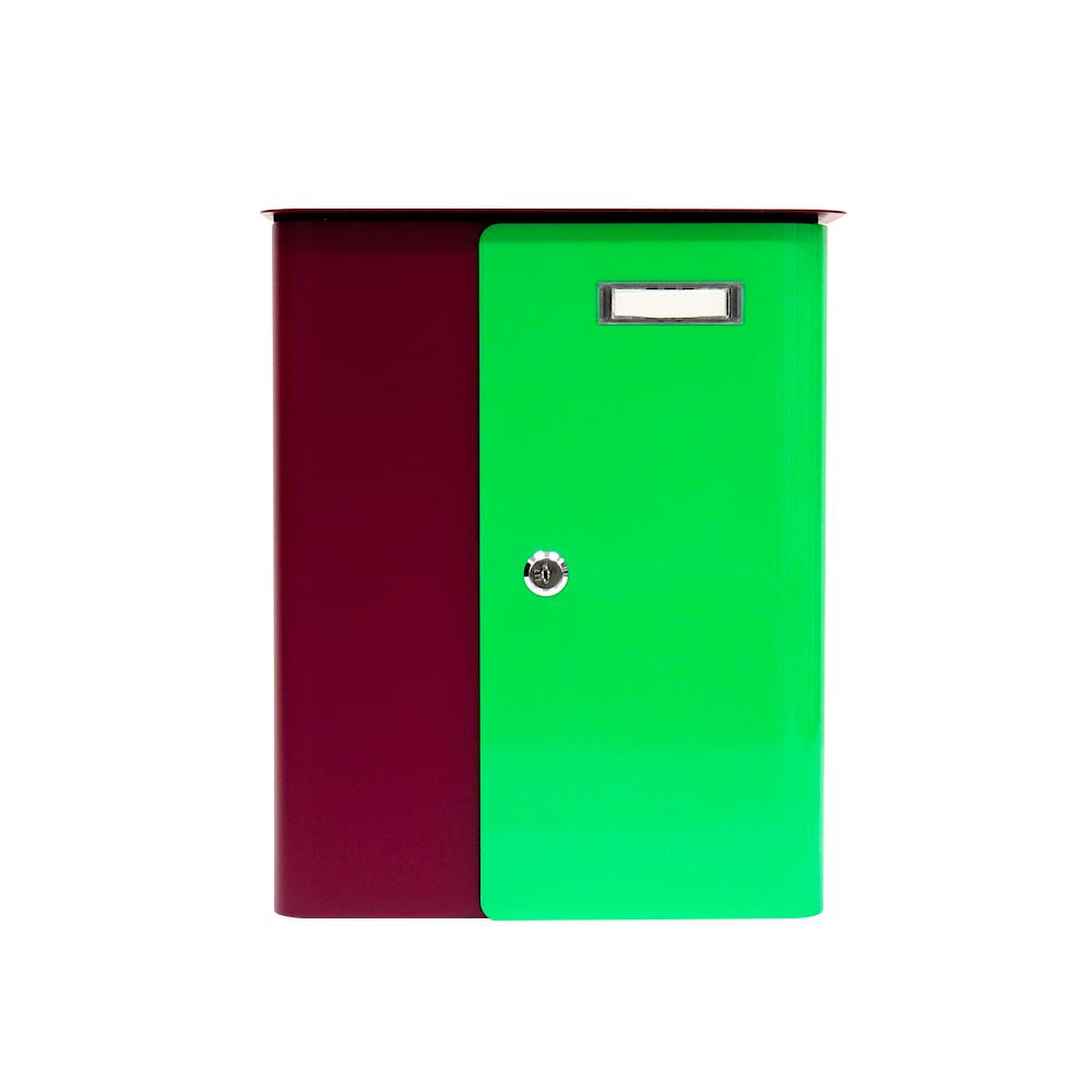Rottner Splashy Berry Neon Green Letterbox