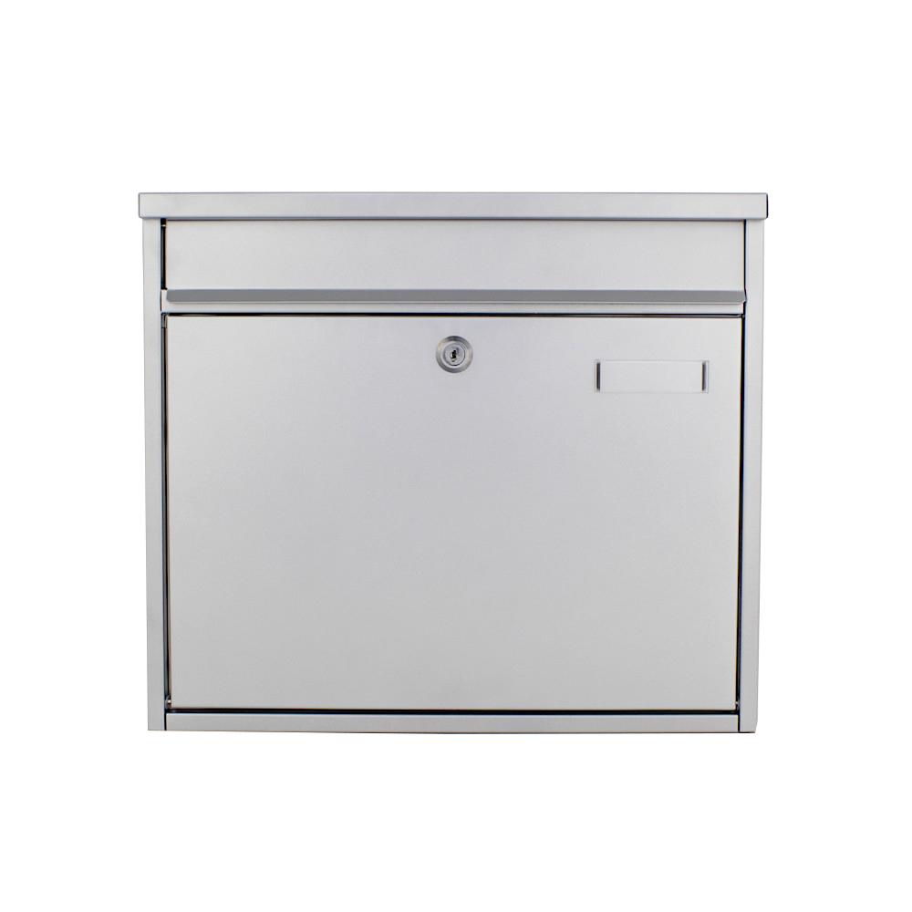 Rottner Mailbox Hochhaus II Silver
