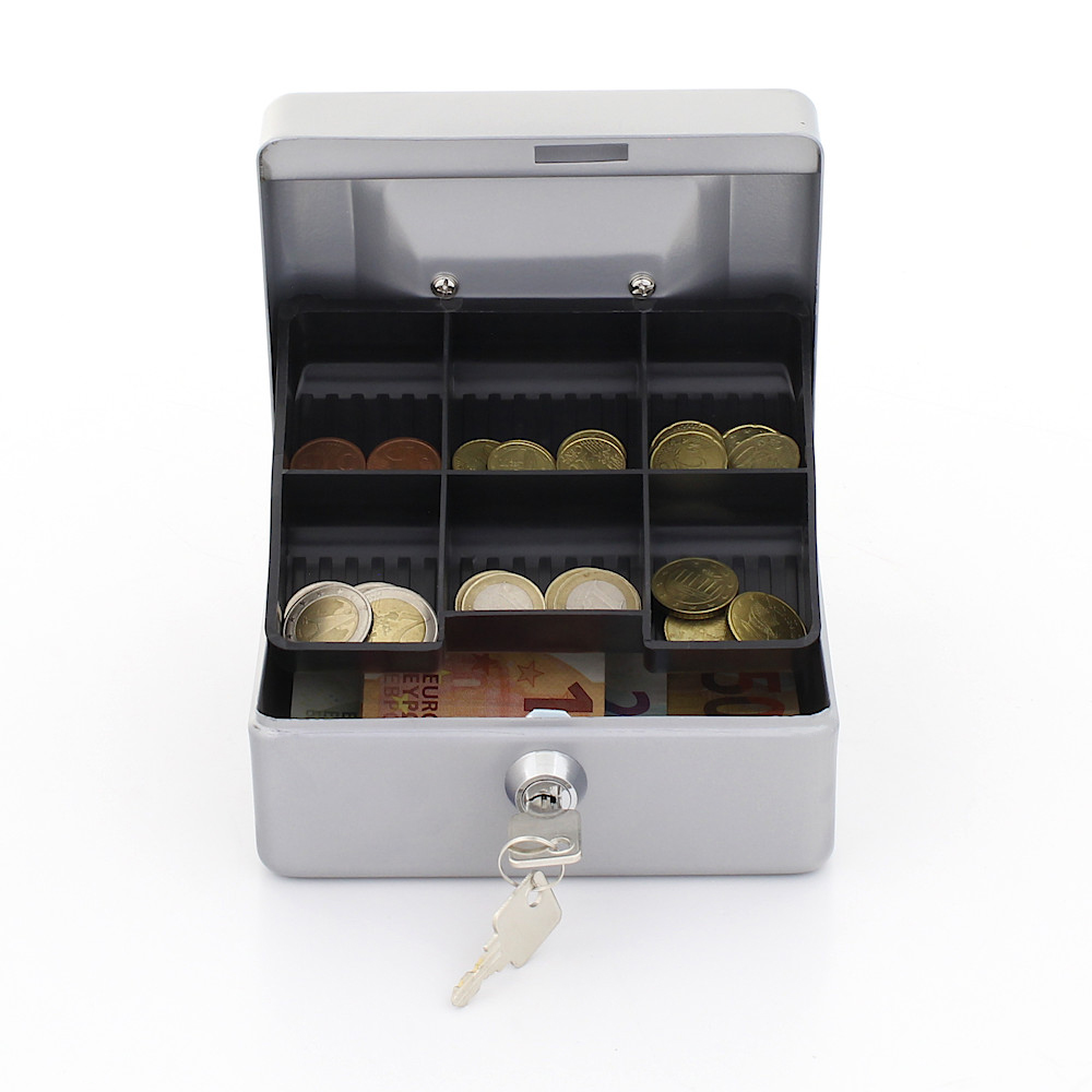 Rottner Cash Box Traun 1 Silver