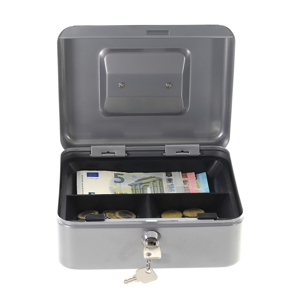 Rottner Cash Box Traun 2 Silver