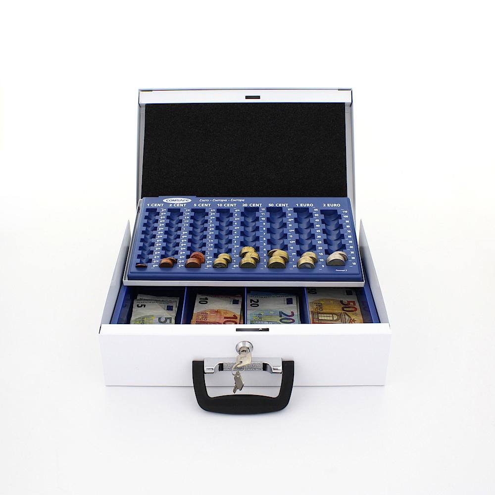 BRUESSEL WHITE CASH BOX