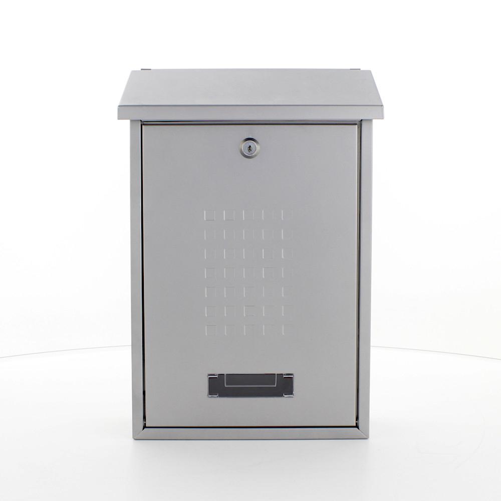 Rottner Letterbox Lignano Silver