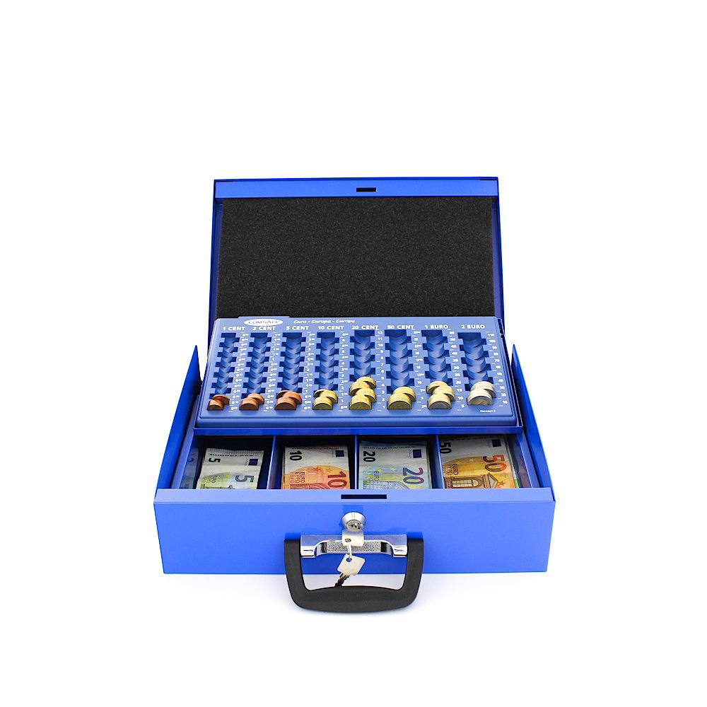 Rottner Brussel Blue Cash Box