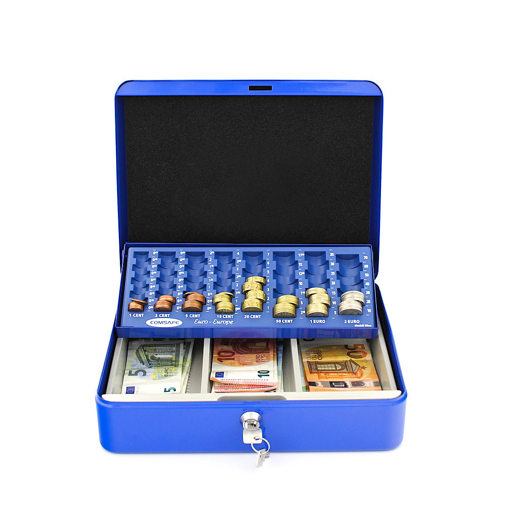 Rottner  Wien Blue Cash Box