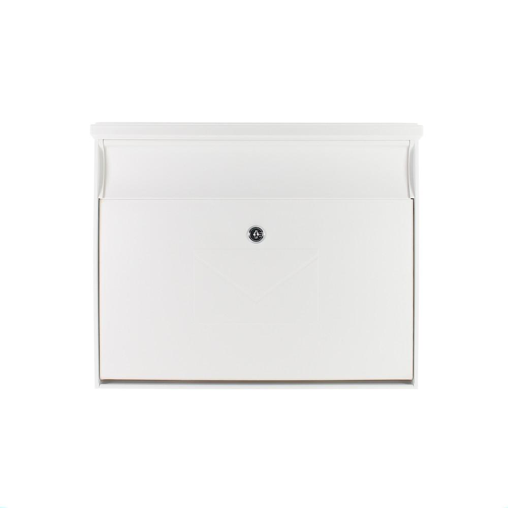 Rottner Toronto White Letterbox