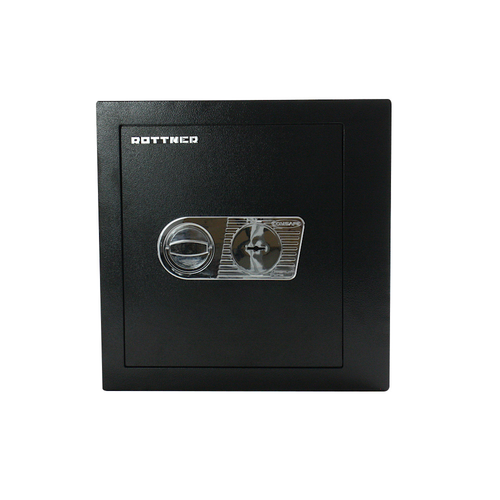Rottner Monaco 45 Safe DB Key Lock Black
