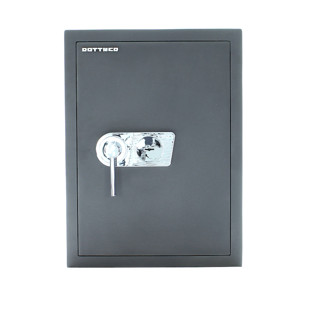 Rottner Furniture Safe Toscana 65 DB Silvergray Key Lock