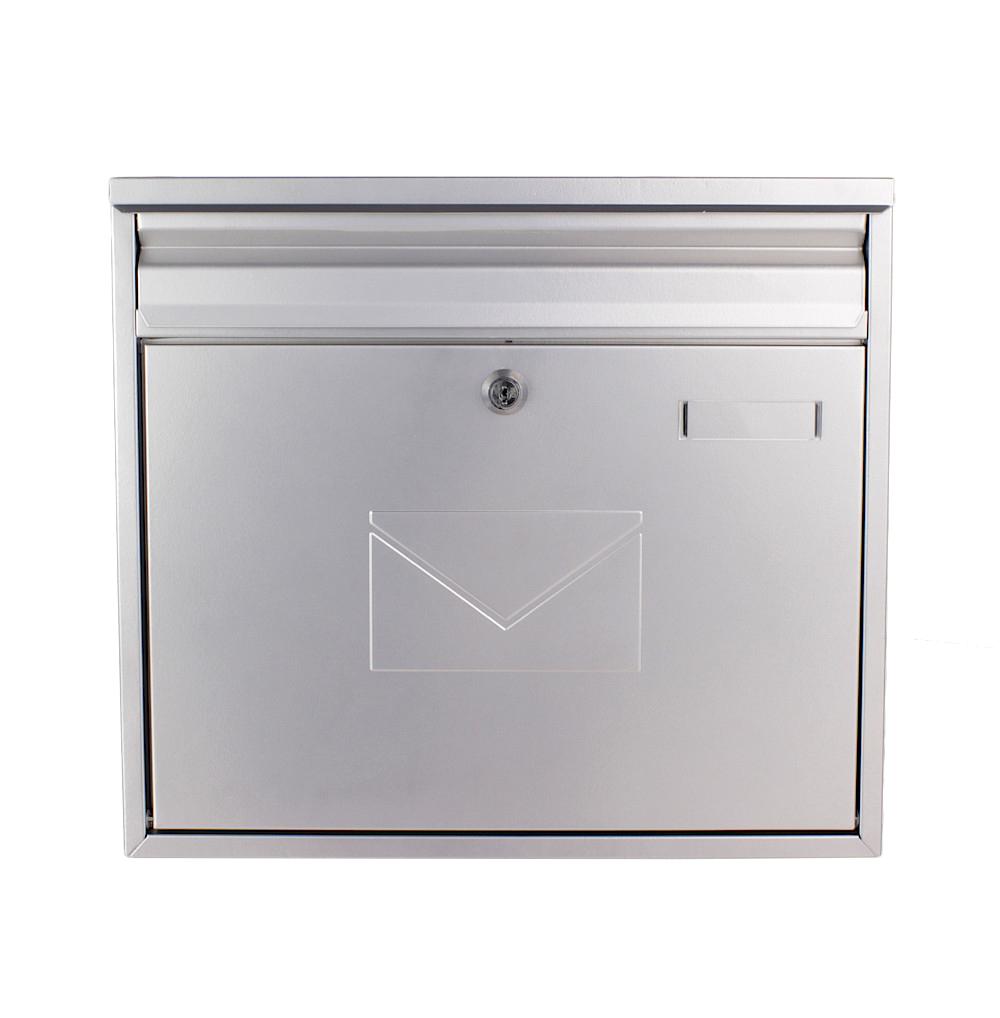 Rottner Letterbox Teramo Silver
