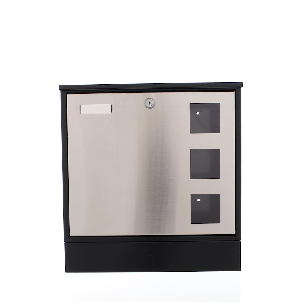 Rottner Design Mailbox Black