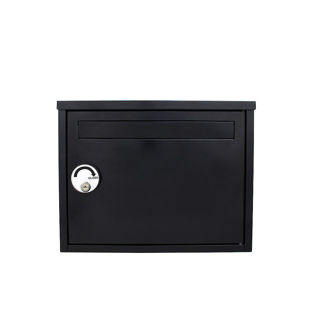 Rottner Leeterbox Safe Parcel Keeper Black