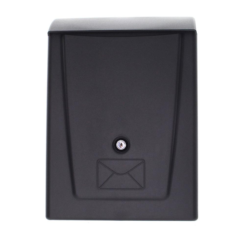 Rottner Plastic Mailbox Black