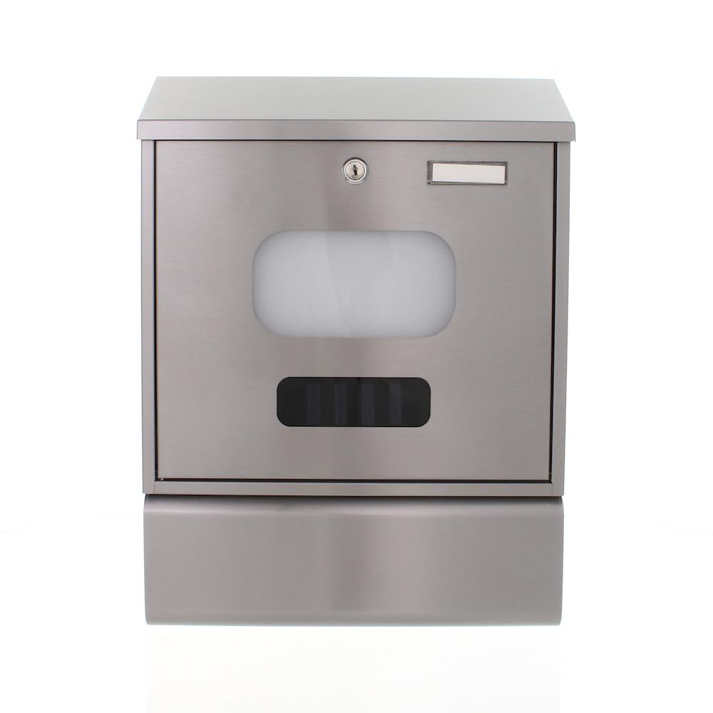 Rottner Solaro Stainless Steel Letterbox