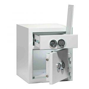 Rottner Schubladentresor baugleich EN1 I/ 120 Elektronikschloss lichtgrau