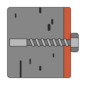 Safes anchoring