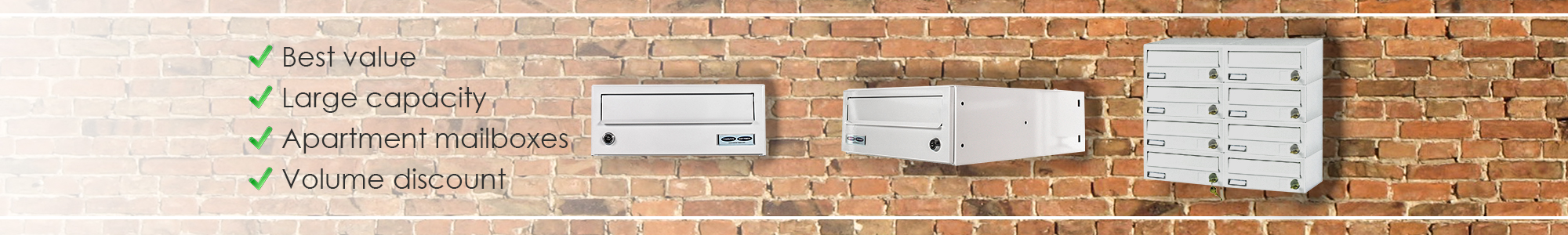 Multi occupancy mailboxes
